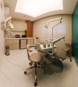 Consultório 2 da Clínica StudioUno Odontologia em Brasília DF