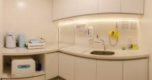 Sala de Esterilização da Clínica de Odontologia StudioUno em Brasília DF